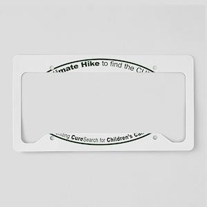 Ultimate Hike - Appalachian F License Plate Holder
