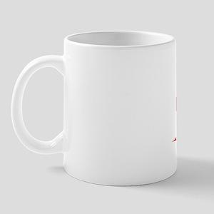 Cai, Vintage Red Mug
