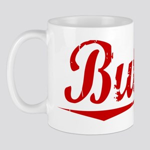 Butner, Vintage Red Mug