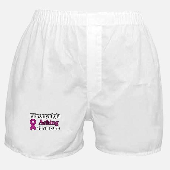 Fibromyalgia Aching For A Cure Awaren Boxer Shorts