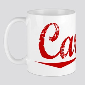 Carlile, Vintage Red Mug