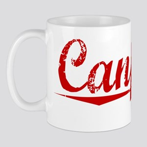 Canfield, Vintage Red Mug