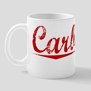 Carbonell, Vintage Red Mug