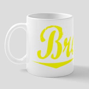 Braun, Yellow Mug