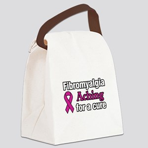 Fibromyalgia Aching For A Cure Aw Canvas Lunch Bag