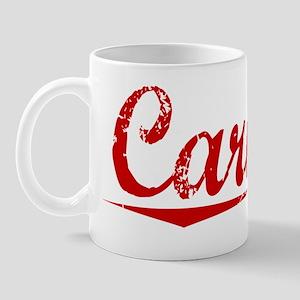 Carnell, Vintage Red Mug