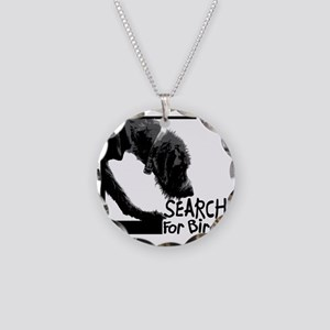 Search birch odor scent nose Necklace Circle Charm
