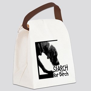 Search birch odor scent nose work Canvas Lunch Bag