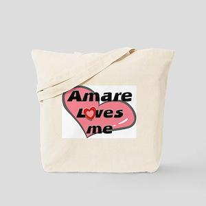 amare loves me Tote Bag
