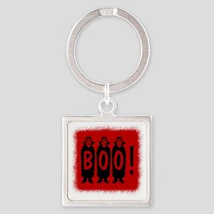 Boo! Dracula is here! Square Keychain