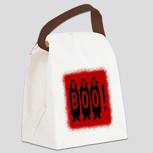 Boo! Dracula is here! Canvas Lunch Bag