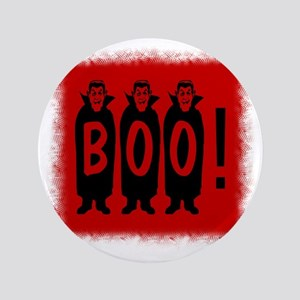 """Boo! Dracula is here! 3.5"""" Button"""