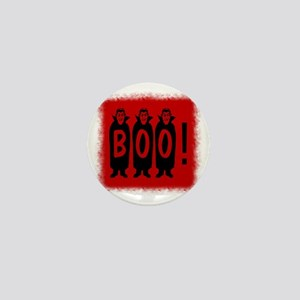 Boo! Dracula is here! Mini Button