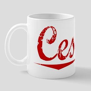 Cessna, Vintage Red Mug