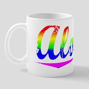 Alonzo, Rainbow, Mug