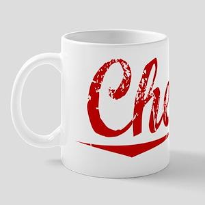 Cheeks, Vintage Red Mug
