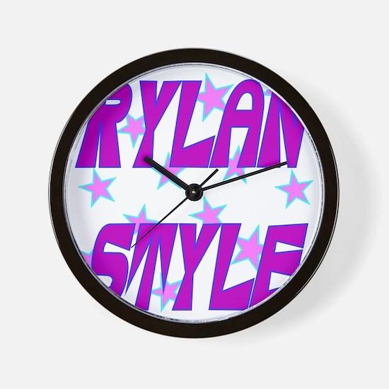 Rylan Style Wall Clock
