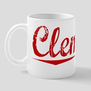 Clemons, Vintage Red Mug