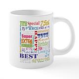 75 years Mega Mugs (20 Oz)