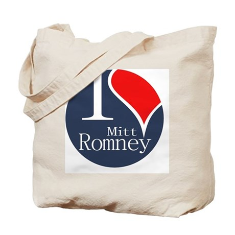 I Heart Romney Tote Bag