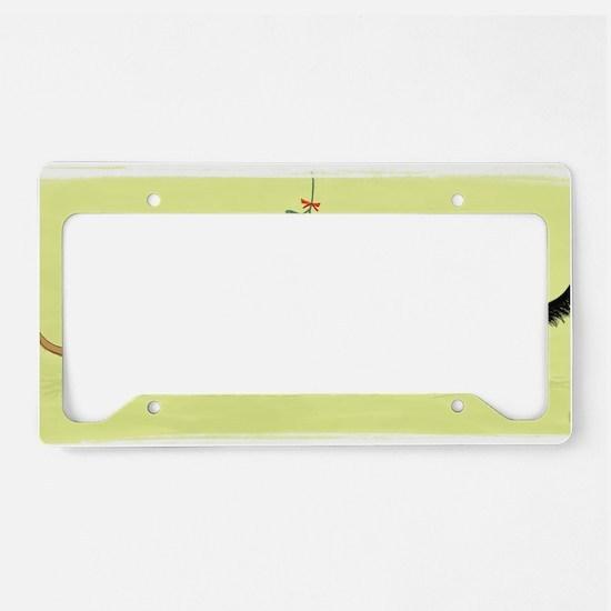 mistletoedoxies License Plate Holder