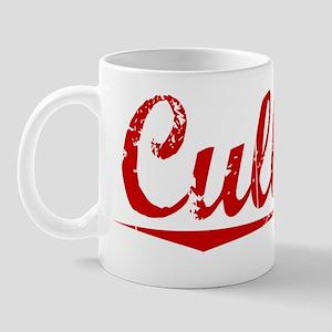 Cullens, Vintage Red Mug