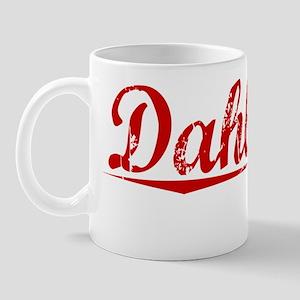 Dahlgren, Vintage Red Mug