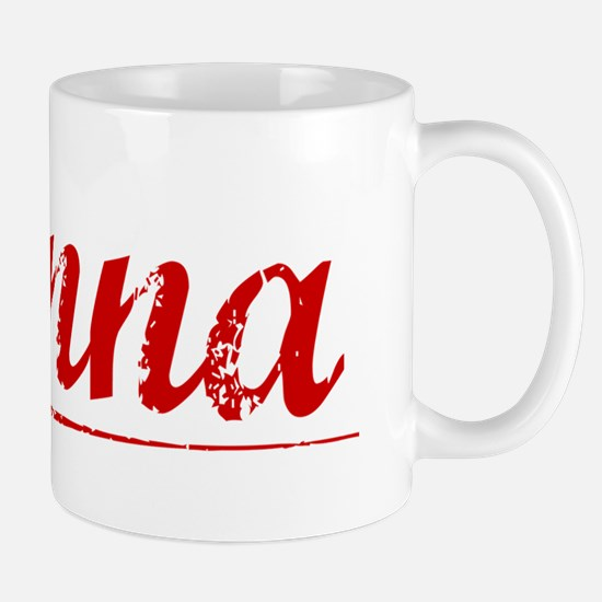 Danna, Vintage Red Mug