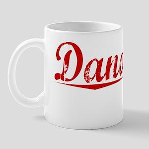 Dandridge, Vintage Red Mug