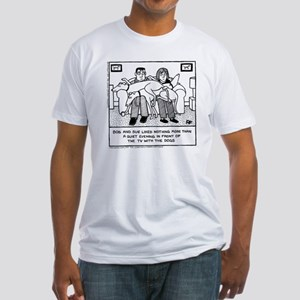 Lap Dogs Fitted T-Shirt
