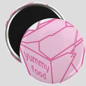 Pink Take Out Box Magnet