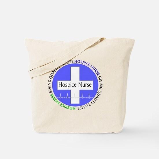 Hospice Nurse giving quality life Tote Bag