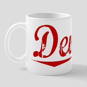 Deville, Vintage Red Mug