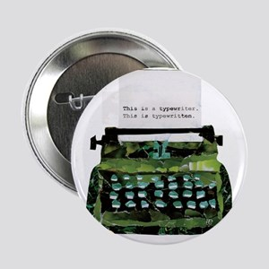 "Ripped Typewriter 2.25"" Button"