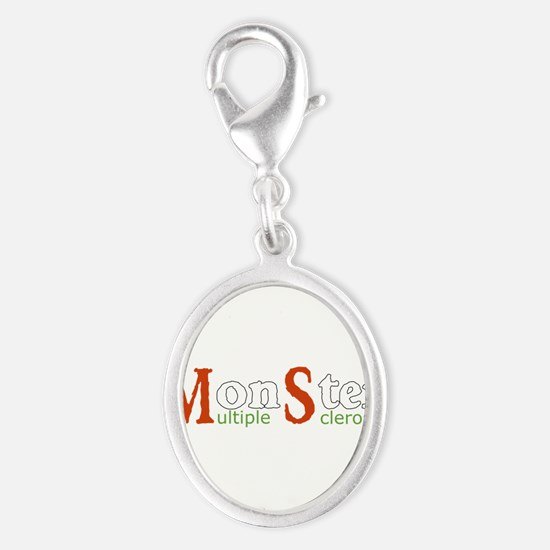 Multiple Sclerosis Monster MS Awareness Col Charms