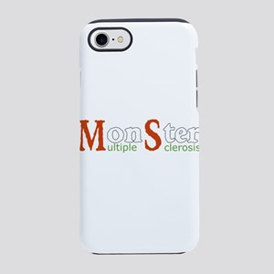 Multiple Sclerosis Monster MS iPhone 7 Tough Case