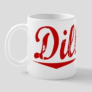 Dilbeck, Vintage Red Mug