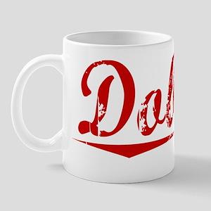 Dobson, Vintage Red Mug