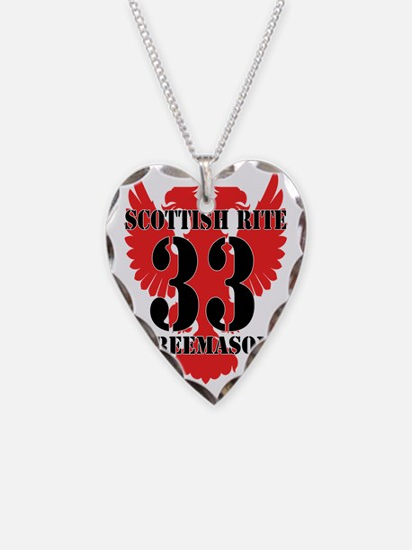 Scottish Rite 33rd Necklace