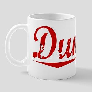 Dunlap, Vintage Red Mug