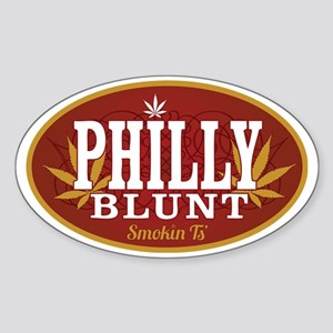 Smokin Ts Philly Sticker (Oval)