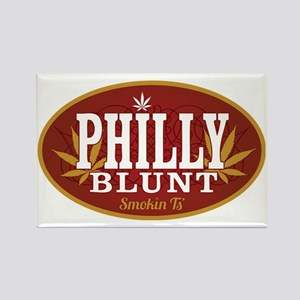 Smokin Ts Philly Rectangle Magnet