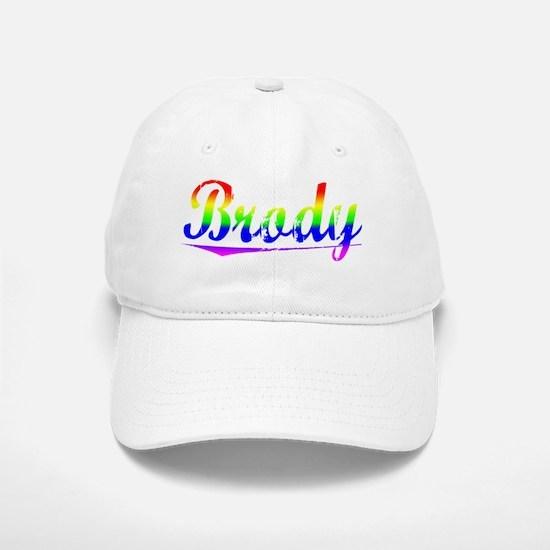 Brody, Rainbow, Baseball Baseball Cap