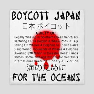 Boycott Japan Queen Duvet