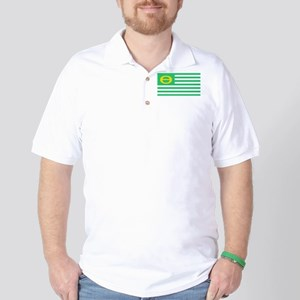 Ecology Flag - United States America Ec Golf Shirt