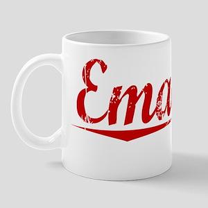 Emanuel, Vintage Red Mug
