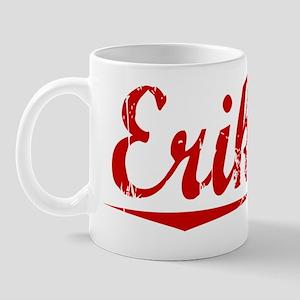 Eriksen, Vintage Red Mug