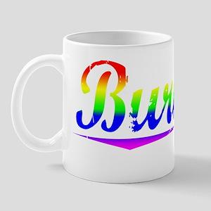 Burnley, Rainbow, Mug