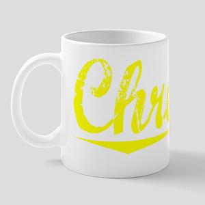 Chretien, Yellow Mug