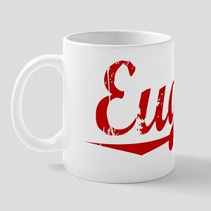 Eugene, Vintage Red Mug